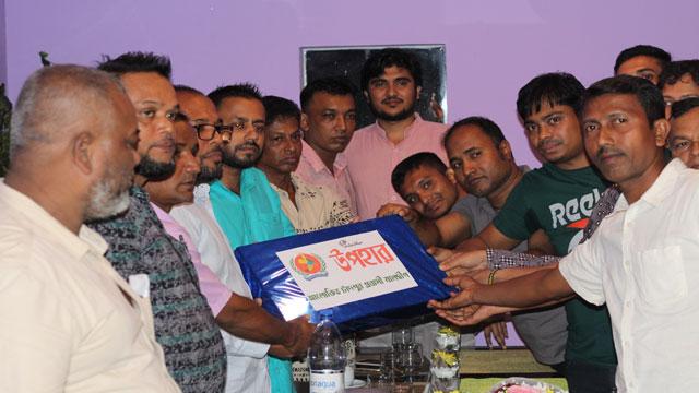 মালদ্বীপে 'আলোকিত চাঁদপুর' সভাপতির বিদায়ী সংবর্ধনা