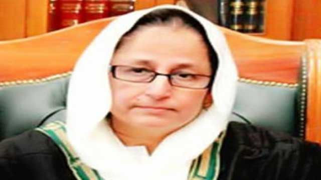 পাকিস্তানের প্রথম নারী প্রধান বিচারপতি তাহিরা