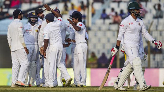 Tigers stare at defeat in first Test