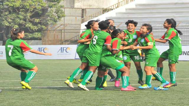Bangladesh girls becomes SAFF U-15 champion