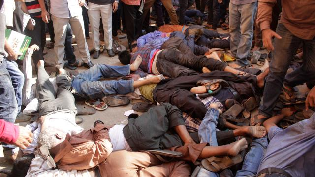 10 killed in stampede at Mohiuddin's qulkhwani