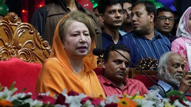 No polls to take place keeping BNP outside, says Khaleda Zia