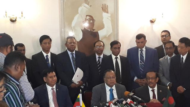 Bangladesh, Myanmar form joint working group for Rohingya repatriation