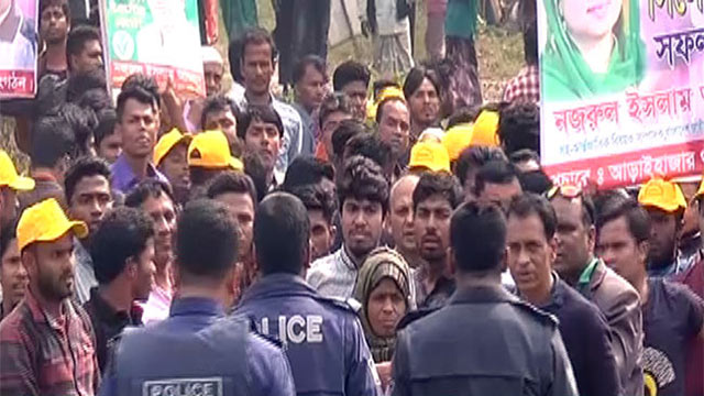 Khaleda Zia's motorcade comes under attack on way to Sylhet