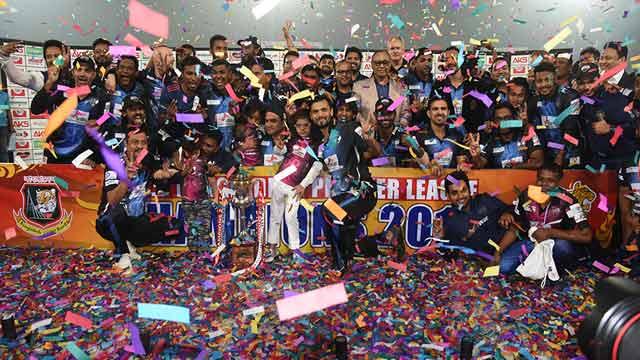 Rangpur Riders new BPL champions