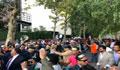 বাংলাদেশীদের বিক্ষোভের মুখে জাতিসংঘে ভাষণ দিলেন শেখ হাসিনা
