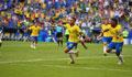 Neymar fires Brazil into quarters