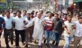 তফসিল ঘোষণার প্রতিবাদে রাজধানীতে বিএনপির বিক্ষোভ