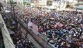 মিছিলে স্লোগানে উৎসব মুখর বিএনপির কেন্দ্রীয় কার্যালয়