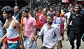 100 held in anti-drug drive at Geneva Camp