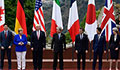 G7 ministers meet against backdrop of Russia stand-off