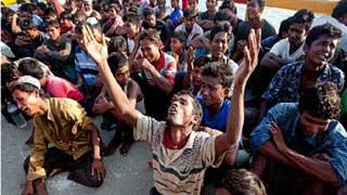 ৮০৩২ জনের মধ্যে ৩৭৪ জনকে খুঁজে পেয়েছে মিয়ানমার