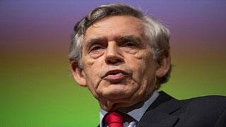 বিশ্ব অর্থনীতির জন্য অশনি সংকেত দিলেন গর্ডন ব্রাউন