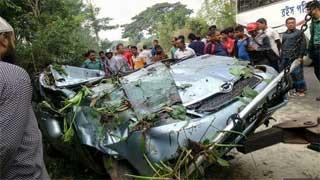 Two killed in Rajshahi road accident
