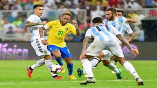 আর্জেন্টিনার বিপক্ষে ১-০ গোলে জিতল ব্রাজিল