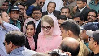 Khaleda Zia at court