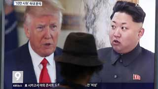 Trump open to US-NKorea talks 'under right circumstances'
