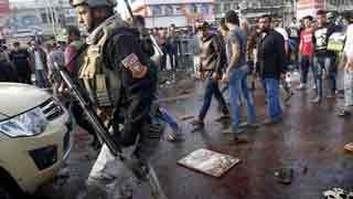 Baghdad suicide blasts kill 26