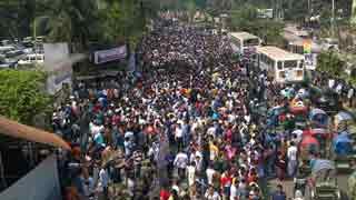 BNP human chain demands Khaleda Zia's release