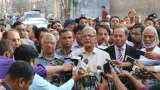 Khaleda Zia urges all to continue peaceful movement