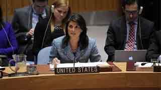 Haley's remarks at UNSC on the ceasefire in Syria