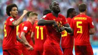 Lukaku double drives Belgium