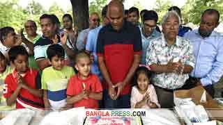 বোষ্টনে খালেদা জিয়ার জন্মদিন উদযাপন করলো নিউ ইংল্যান্ড বিএনপি