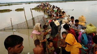 A year after fleeing Myanmar, Rohingya demand justice