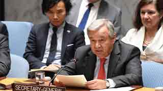 Conditions still not suitable for safe return of Rohingyas, says UN chief