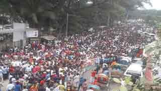 BNP demo for Khaleda Zia's release