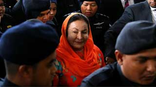 Wife of Malaysian ex-PM charged with money-laundering