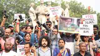 Photographers rally for release of Shahidul