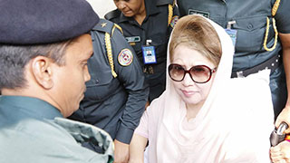 Khaleda Zia released from hospital, produced before court