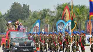 Hasina asks army to uphold constitutional continuation
