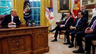 Trump announces 'incredible' trade deal with Mexico