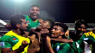 Bangladesh beat Pakistan 1-0