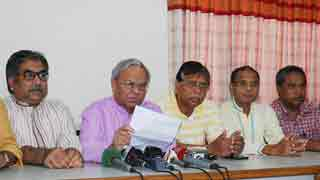 Hasina herself main obstacle to fair polls: BNP