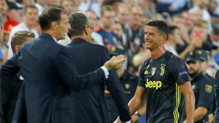 Juventus show grit after Ronaldo red card
