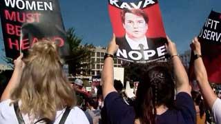 Brett Kavanaugh: Hundreds arrested in Supreme Court protest