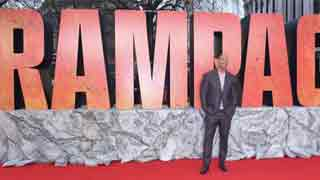 'Rampage' sneaks past 'Quiet Place'