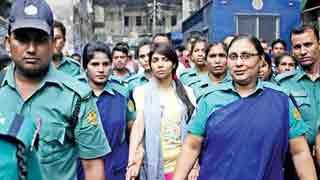 Actress Nawshaba walks out of jail