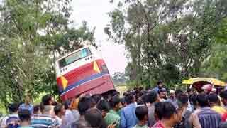 13 killed, 22 hurt in Natore road crash