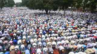 Largest Eid congregation held at Sholakia