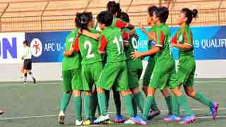 Bangladesh U16 girls emerge group champions