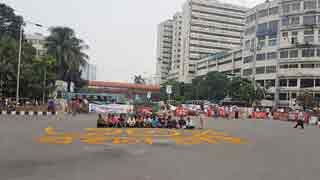 FF quota seekers continue demo at Shahbagh