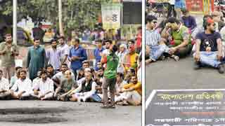 FFs' children, physically-challenged students continue protests