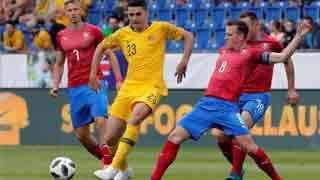 Australia thrash Czechs 4-0 in World Cup warm-up