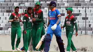 Bangladesh lose to India by two-run in U-19 Asia Cup semis