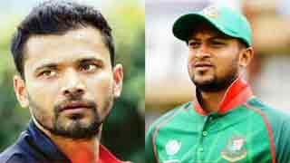 Mashrafe, Shakib to collect AL nomination forms