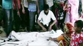 Savar wall collapse kills mother, son